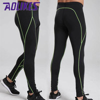 High Elastic Quick Dry Compression Men S Tights 2017 New Gym Fitness Sport Pants Cycling T