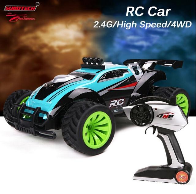 Subotech BG1505 высокоскоростной Off - джипы 1/16 полной шкалы 4CH 2.4 ГГц 4WD RC гоночный автомобиль ртр детей электрические игрушки