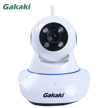 Gakaki 720P HD WiFi Wireless IP Camera Indoor Night Vision Video Surveillance CCTV Baby Monitor Support Motion Detection Alarm