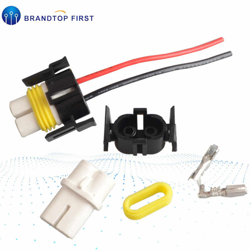 H11 H8 880 881 Wiring Harness Socket Female Adapter Wire Connector Cable Plug for HID Xenon Headlight Fog Lights Lamp