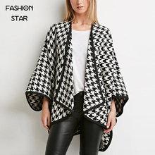 Fashion Star New Arrival Designer Batwing Sleeve Asymmetrical Women's Kimono Jacket Vogue Korean Designer Overcoats