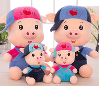 1pc 30cm 40cm Cartoon New Overalls McDull Sweet Love Funny Plush Doll Hold Pillow Novelty Creative