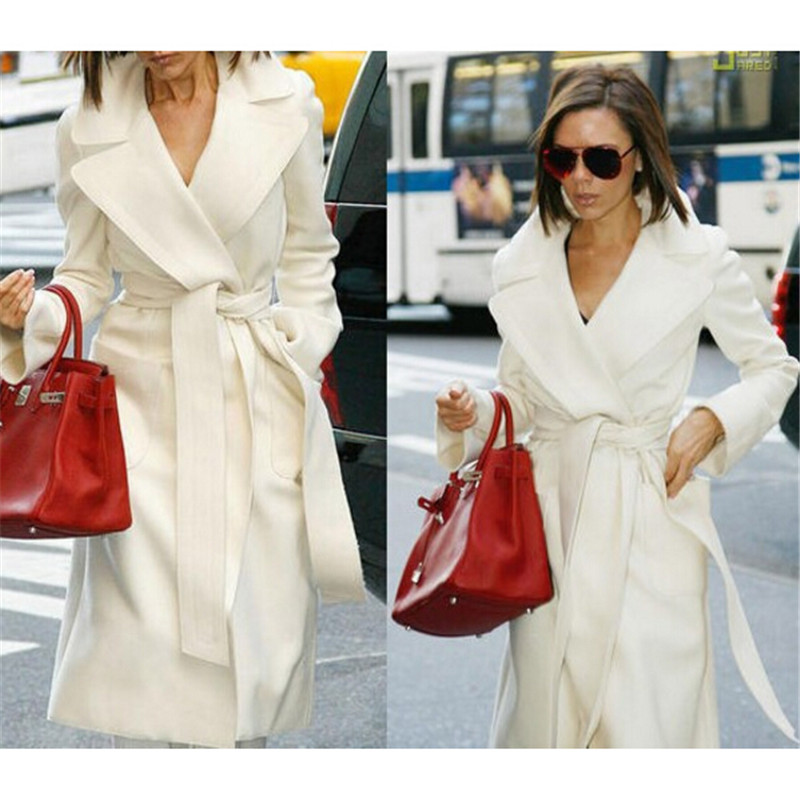 Online Get Cheap White Belted Wool Coat -Aliexpress.com | Alibaba ...