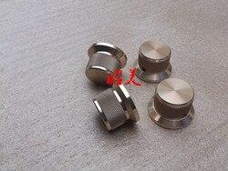 Diámetro 38mm de diámetro de mango 30mm alto 25mm pura aleación de aluminio rueda de volumen sólida AMPLIFICADOR DE POTENCIA DE AUDIO perilla de potenciómetro