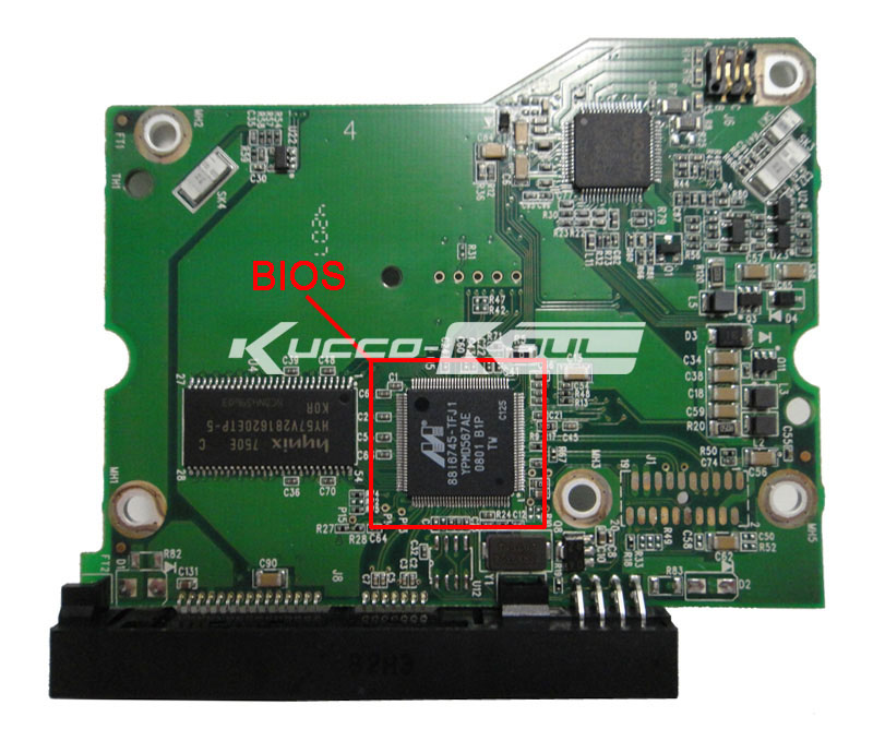 HDD PCB Logic Board 2060-701474-002 REV A For WD 3.5 SATA Hard Drive Repair Data Recovery