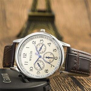 Image 1 - New Fashion Brand watches Casual Quartz Clock PU Leather Strap Business Cheap Sports Wrist watch relogio Male Woman Unisex Watch