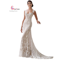 Formal Evening Evening Dresses Lace Appliques Trumpet Mermaid Court Train Evening Dresses Long Evening Party Robe