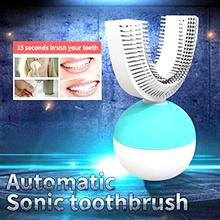 Automatic Toothbrush U Type Head Teeth Whitening Brush Full Electric Personal Cleaning Toothbrushes Wireless Charging
