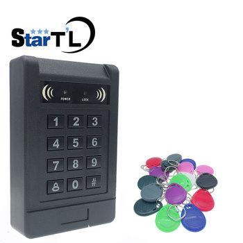 RFID takich atrakcji jak kontrola dostępu za pomocą karty systemu kontrola dostępu do drzwi RFID EM Luminous klawiatura takich atrakcji jak zamek do drzwi wiegand wejście tanie i dobre opinie stteypco access control 1000 125Khz ID Card