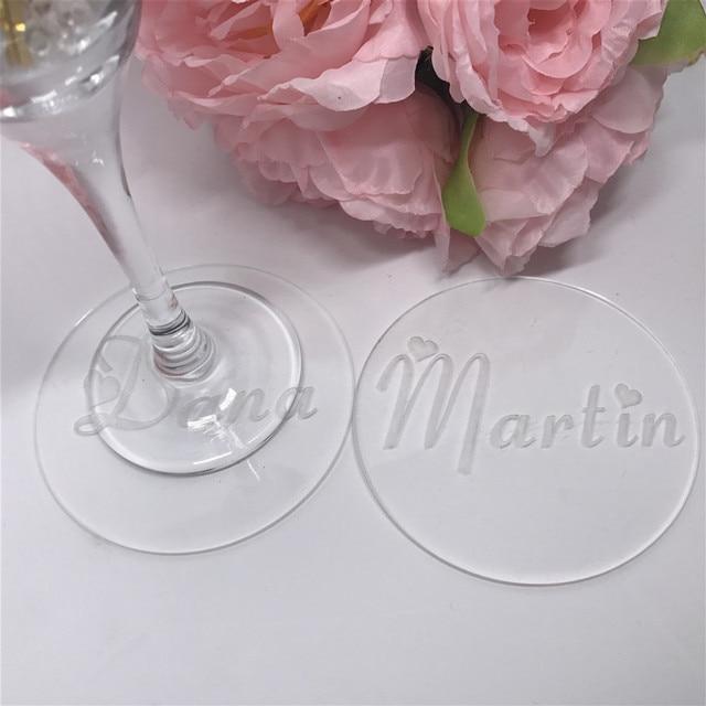 Personalisierte Hochzeit Setzern Benutzerdefinierte Braut Und