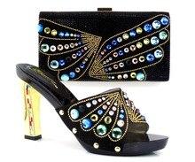 แฟชั่นอิตาลีรองเท้าผู้หญิงที่มีการจับคู่ถุงชุดสำหรับงานเลี้ยง,รองเท้าที่มีคุณภาพสูงและกระเป๋าที่กำหนดไว้สำหรับงานแต่งงาน(Szie: 37หรือ43) MQ1-38