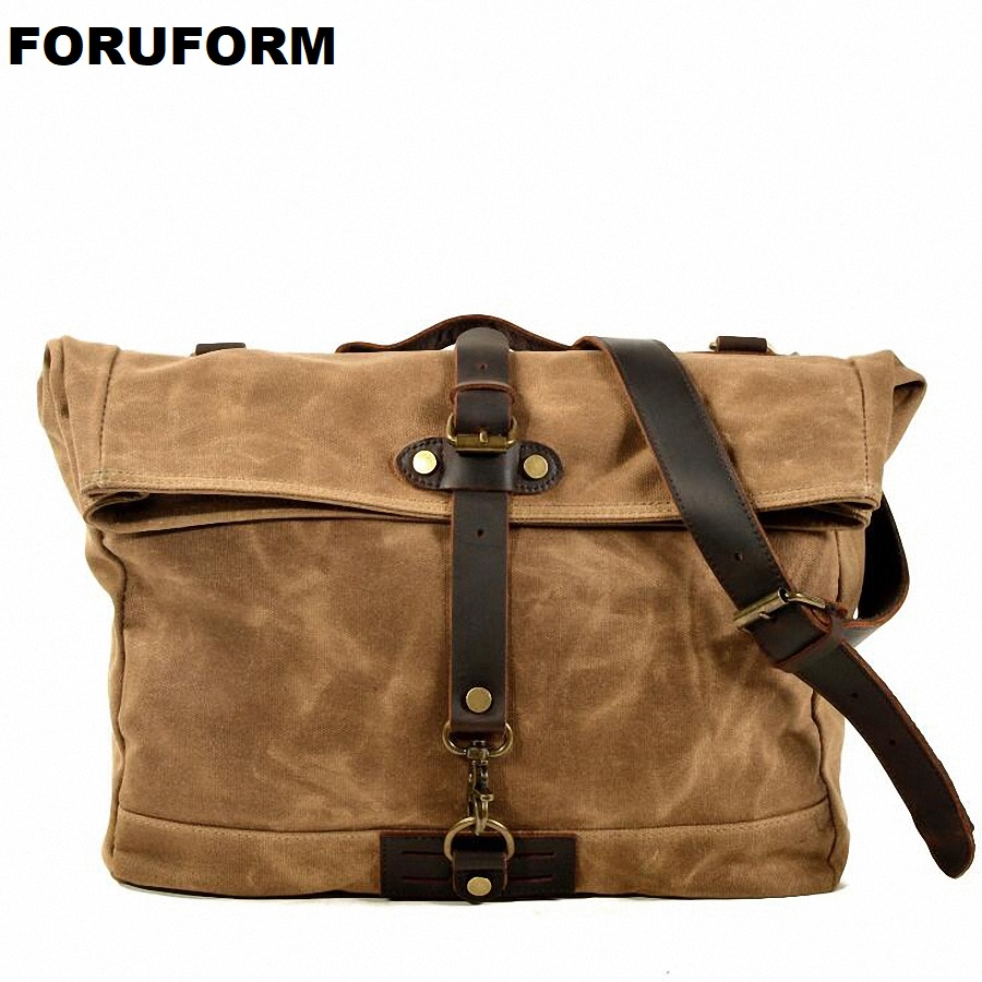 Waterproof Canvas Men Bags Korean Multi-functional Man Bag Business Men Canvas Shoulder Bag Fashion Leisure Messenger Bag LI2512Waterproof Canvas Men Bags Korean Multi-functional Man Bag Business Men Canvas Shoulder Bag Fashion Leisure Messenger Bag LI2512