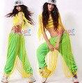 #1907 Неоновый зеленый Женщины бегуны Pantalones mujer Hip hop одежда Уличная тренировочные брюки женские Брюки