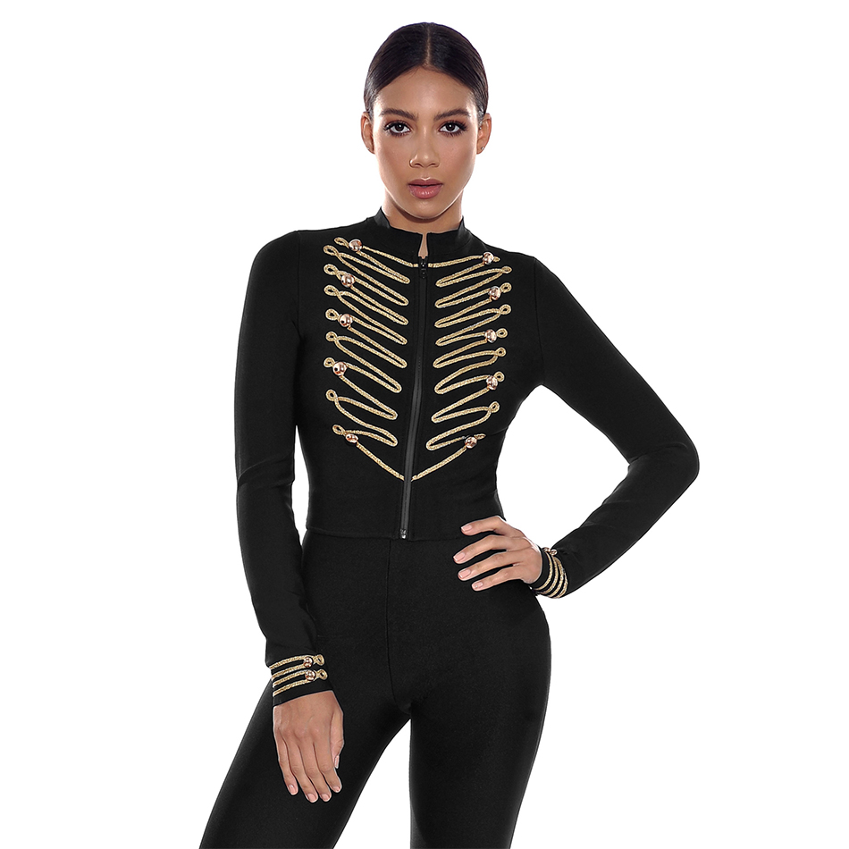 Adyce 2019 New Spring Women Slim Bandage   Trench   Coat Sexy Black Front Zipper Celebrity Party Coats Long Sleeve Fashion Club Coat