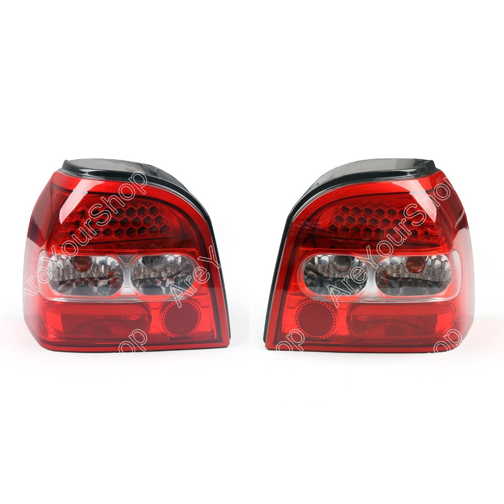 Sale For Vw Golf Mk3 Iii Led Tail Lights Brake Rear Lamp Left Right Side 1993 1998 In Car