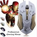 CHYI Gaming Mouse Ajustable 3200DPI 6 Buttons Optical Macro Programming USB Game Mouse Gamer Colorful Breathing Variable Lights