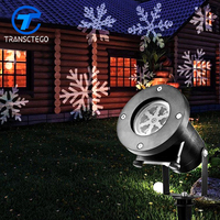 Christmas Light Halloween Snowflake Decorations Outdoor Waterproof LED Light Projector For Landscape Garden Holiday Party Lamp