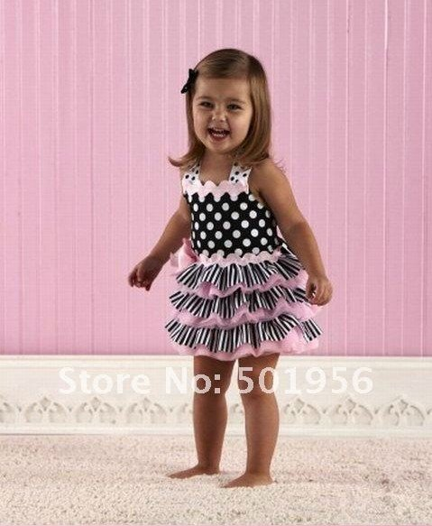 2016 new arrival Baby Dress tutu Baby girls dress children dress Summer Baby Wear
