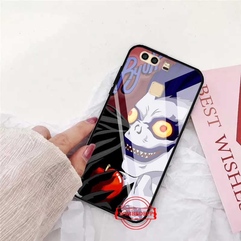 WEBBEDEPP Death Note สำหรับ Huawei P10 lite P20 Pro P30 P สมาร์ท honor 7A 8X9 10 y6 Mate 20