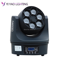 Mini Moving Head beam 6x15w LED RGBW 4in1 Beam Stage Dj Disco Laser show