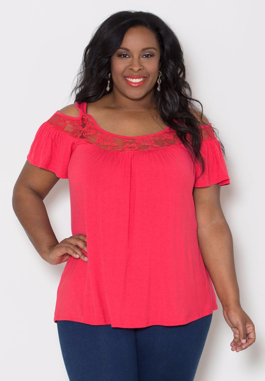 HTB1KOK KFXXXXaOXXXXxh4dFXXXw - Off Shoulder Summer Tops Short Sleeve Lace Patchwork Loose
