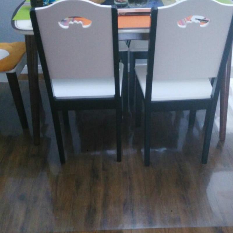 Wood Floor Protection Carpet Chair Mat Pvc Non Slip Area Rug