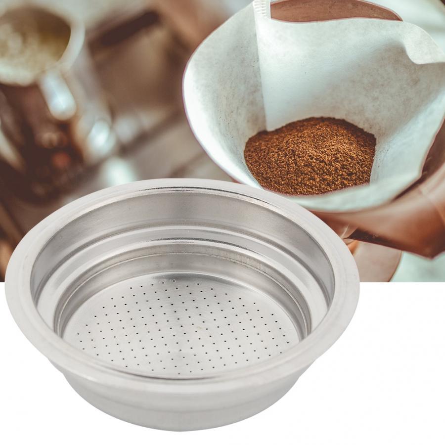 Запчасти для кофемашины, высококачественный фильтр для кофе, чая, корзины серебра, фильтр для кофемашины из нержавеющей стали