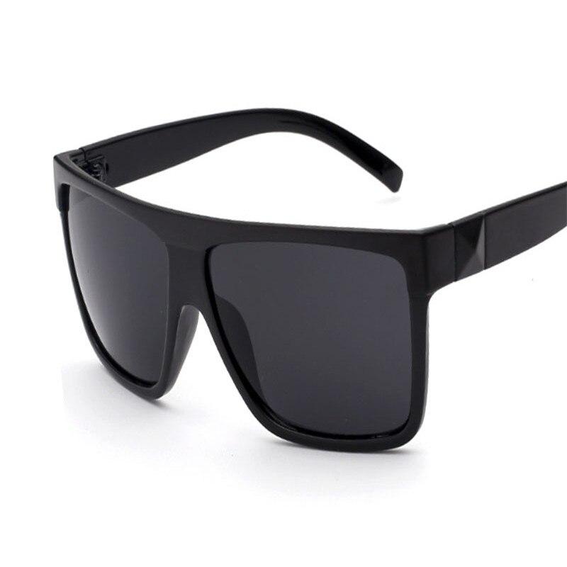 2018 Classic Retro Women & Men Sunglasses Big Box Frame Oversized ...