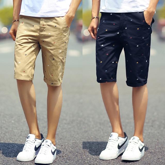 ee448fd36dd5d 2016 nuevos hombres de la marca shorts imprimir holgados pantalones cortos de  moda de los hombres
