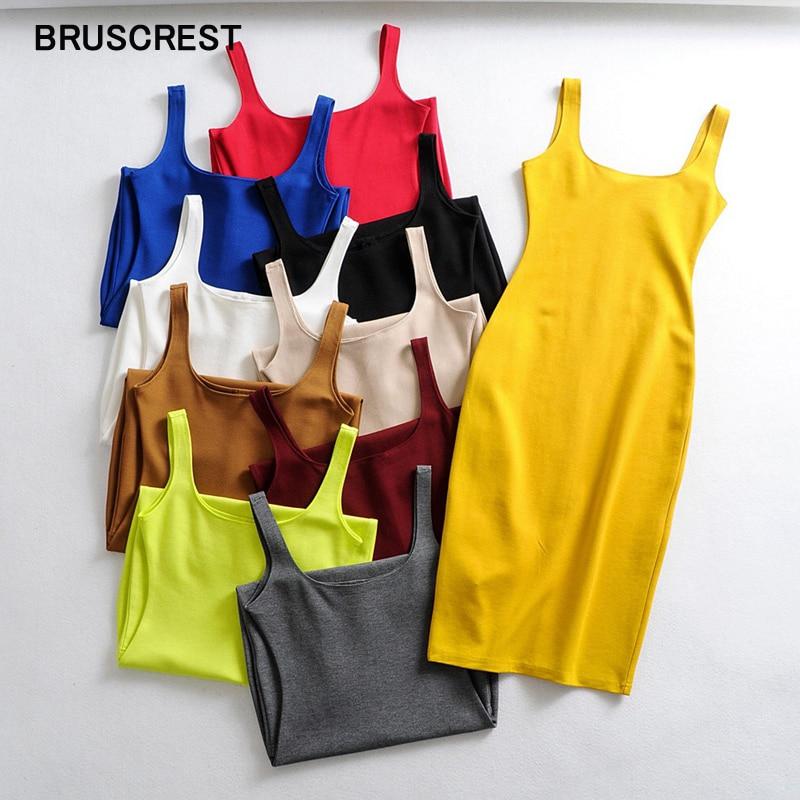 Summer dress 2021 bodycon dress neon green white dress midi dress black yellow beach dress sundress casual vestidos
