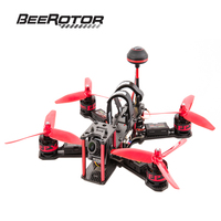 BeeRotor Ultra 210 FPV Racing Mini Quadcopter ARF w/ Camera Motor ESC Props Antenna BR210 Frame F3 Combo Set