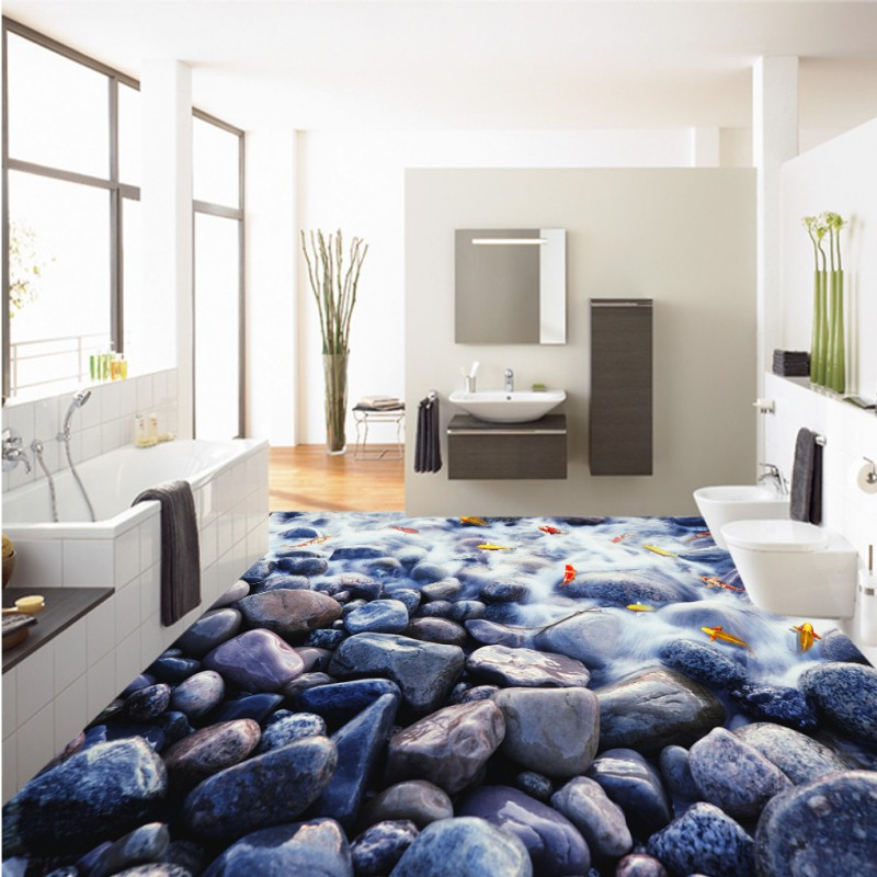 Confronta i prezzi su Pebble Flooring Bathroom - Shopping Online ...
