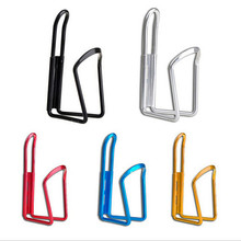 New Aluminum Alloy Bike Bicycle Cycling Drink Water Bottle Rack Holder Cage Sturdy Structure Aluminum Alloy Small Size Light