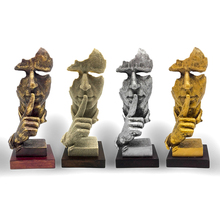 crafts craft figurine European-style living room entrance decoration ornaments creative abstract figure sculpture art
