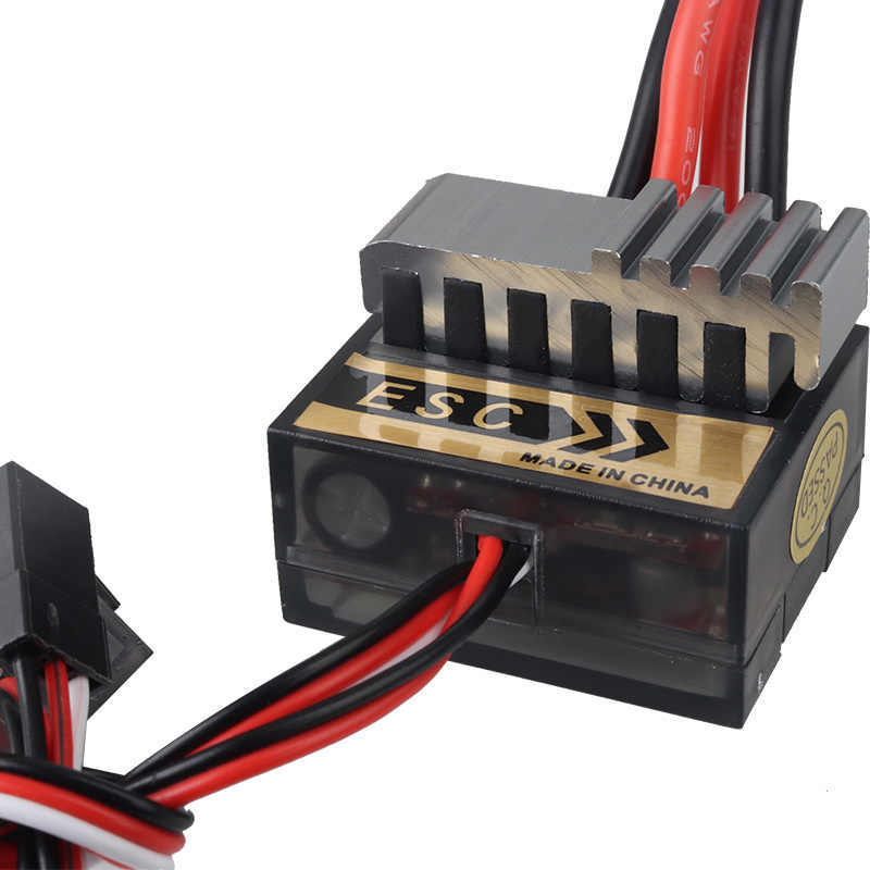 Nieuwe Hot 1pc NiMH 4.8-7.2 V 320A Brushed Electric Speed Controller Borstel ESC Voor RC Car boart 1/8 1/10 Truck Buggy Accessoires