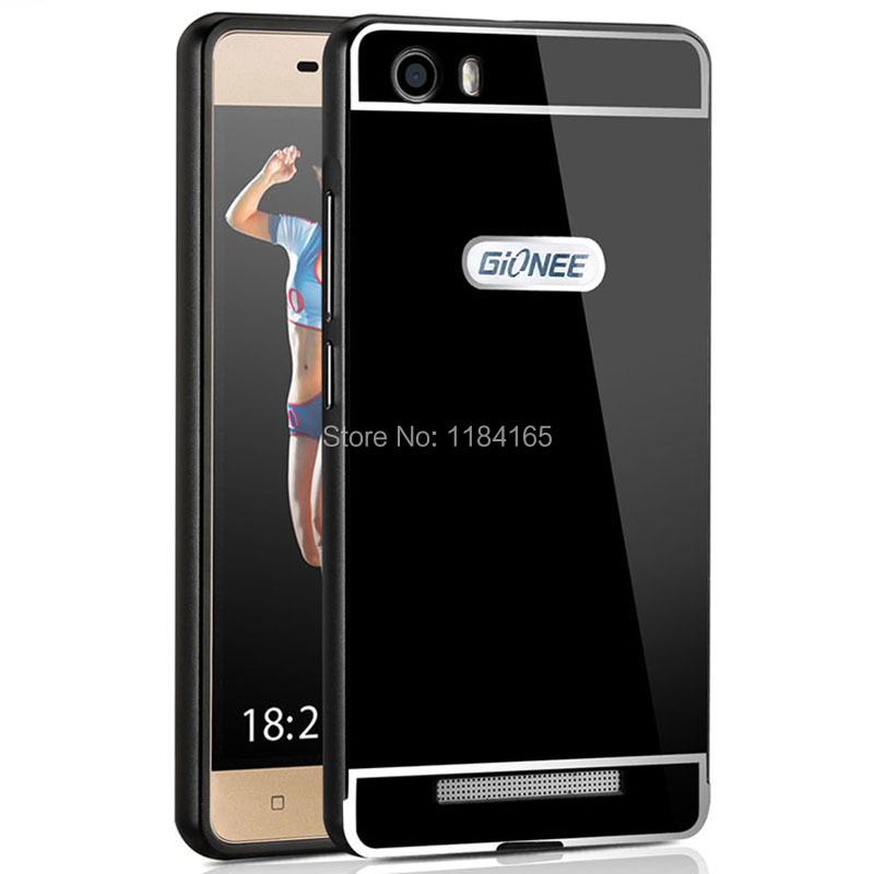 official photos f1ce6 8e8ce US $2.31 42% OFF|JONSNOW Case for Gionee Marathon M5 Lite Slim Premium  Aluminum Metal Frame Acrylic Battery Phone Back Protective Cover-in Fitted  ...