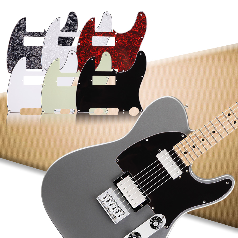 3Ply Guitar Pickguard For Tele With Humbucker Cut Out Style Practical Pick Up Humbucker Pick Guard