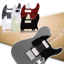 3Ply Guitar Pickguard For Tele With Humbucker Cut Out Style Practical Pick Up Humbucker Pick Guard Guitar Accessories