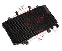 Motorbike Radiator Cooler Cooling For HONDA CBR400 CBR 400 NC23 RADIATOR