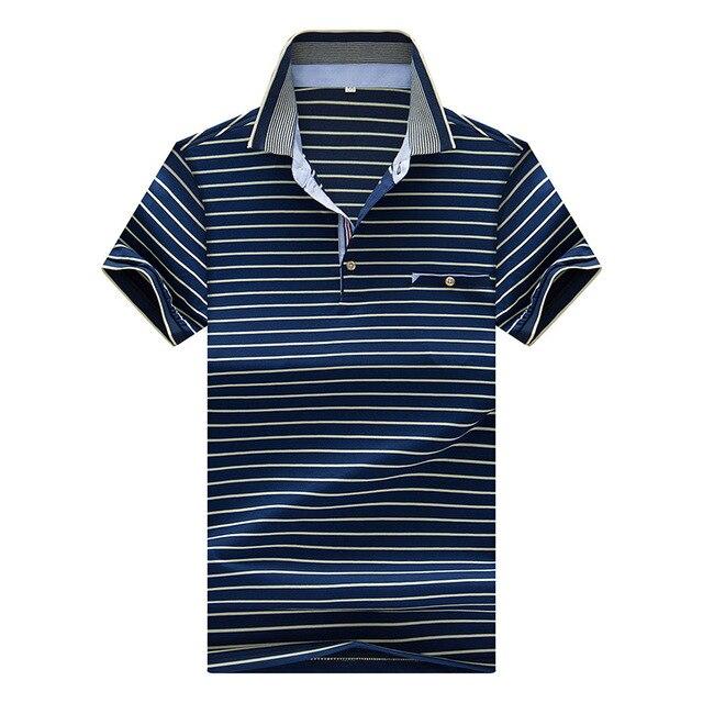 3XL Плюс Размер Бизнес Мужские Polo Рубашки Бренды Одежды Зеленый с коротким Рукавом мужская Poloes Рубашки 2016 Лето Polo Homme Еды носить