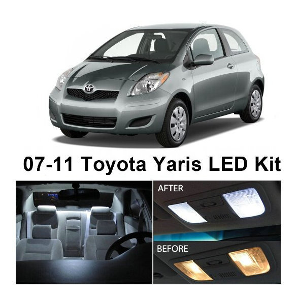 Free Shipping 6pcs Lot Auto Accessories Led Light Bulbs For Cars Led