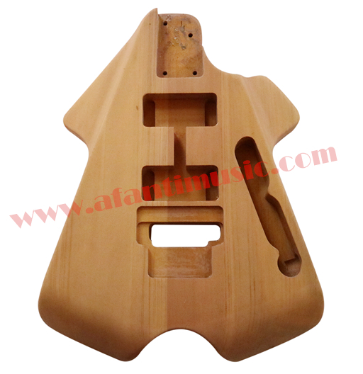 Afanti Music DIY guitar DIY Electric guitar body (AJB-150) image