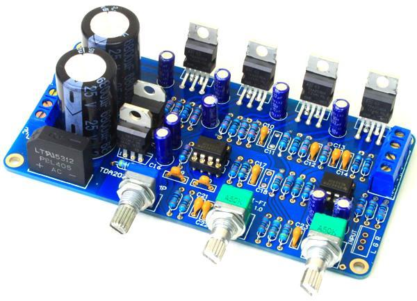 TDA2030A 2.1 super bass power amplifier board (D2A2)TDA2030A 2.1 super bass power amplifier board (D2A2)