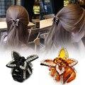 1 Pc Mulheres Elegantes Grampos de Cabelo Garra Hairpin Artesanato Borboleta Presilhas de Cabelo Braid Styling RP1-5