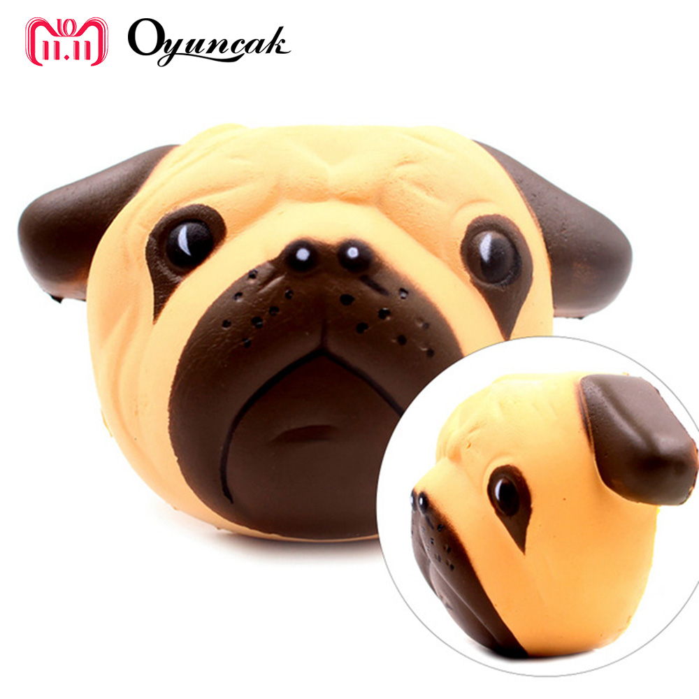 Oyuncak Fun Novelty Gag Toys Antistress Squishy Slow Rising Stress Relief Squishe Dog Squishy Gadget Gags Practical Joke Squishy