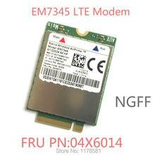 EM7345 FRU 04X6014 и GOBI5000 4G модуль NGFF wwan карта для thinkpad T440 W540 T440P T440s X240 X250
