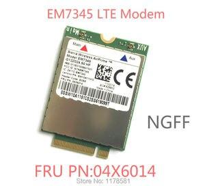EM7345 FRU 04X6014 New&Original GOBI5000 4G Module NGFF wwan card for thinkpad T440 W540 T440P T440s X240 X250(China)