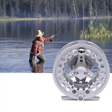 8.5cm Aluminum Alloy Fly Fishing Reel 7/8 Large Former Ice Fishing Reel Left / Right Interchangeable 7 8 left