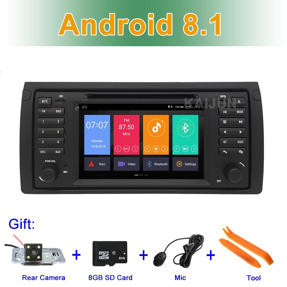 IPS écran Android 8.1 Voiture DVD Stéréo Lecteur pour BMW E53 Avec BT Wifi Radio GPS