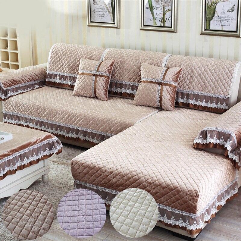 Double Side Sofa Cushion Pets Dogs Sofa Covers Plush Non